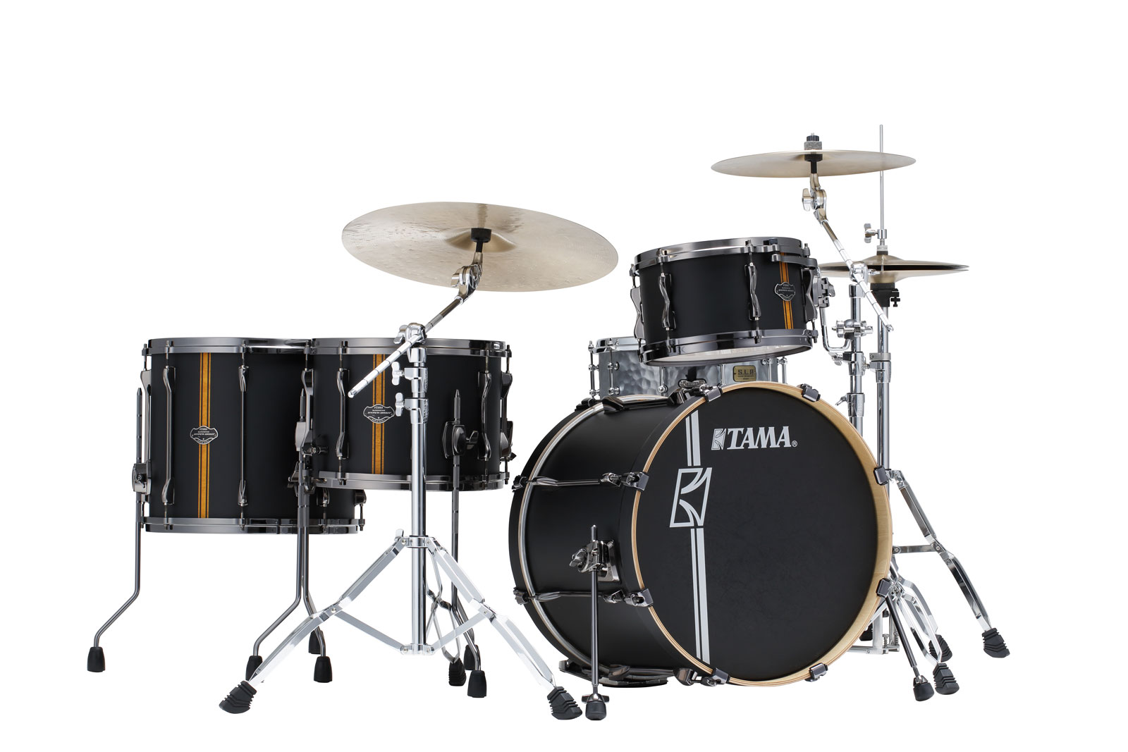 SUPERSTAR HYPER-DRIVE DUO 20/12/16/14 FLAT BLACK VERTICAL STRIPE ML40HZBN2-FBV