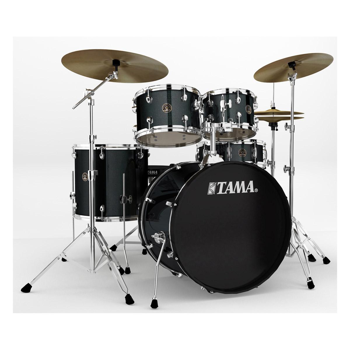 Tama Rm52kh6c-ccm Kit Rhythm Mate 2014 Fusion 22 - 5 Fûts Avec Accessoires Et...