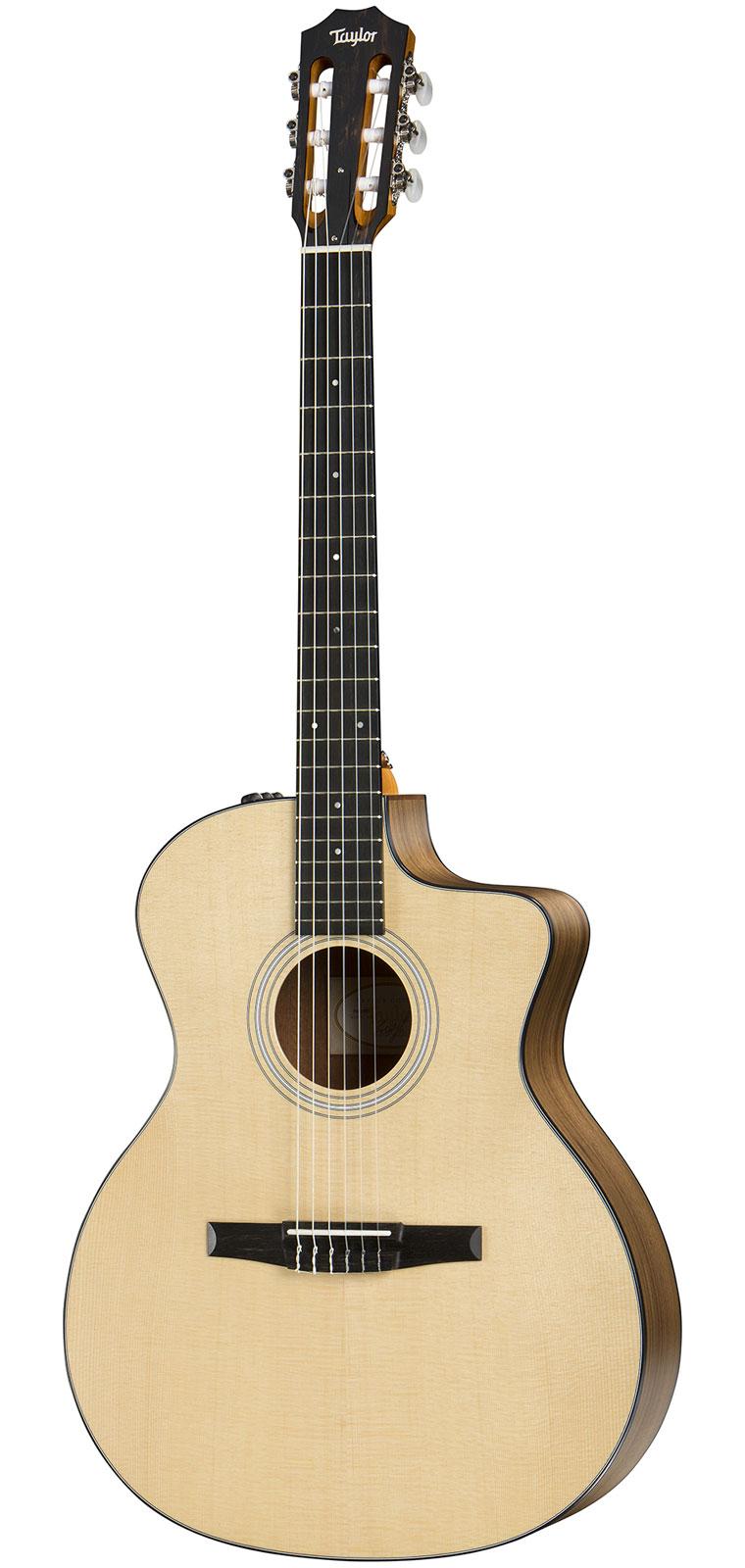 Taylor Guitars 114ce-n Esn Nylon Grand Auditorium ...