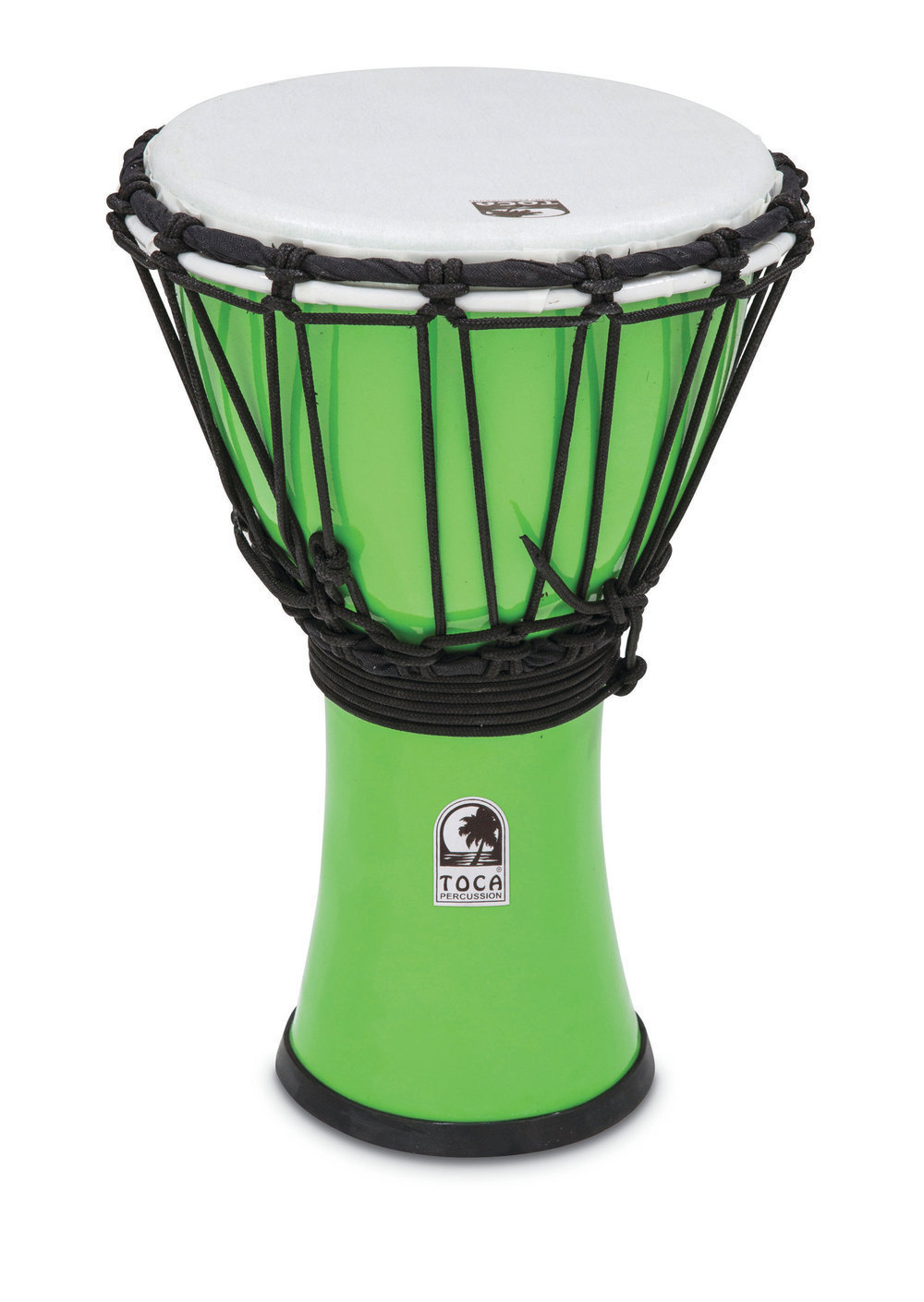 toca djembe vert pastel 7 tfcdj 7pg percussion buy online free. Black Bedroom Furniture Sets. Home Design Ideas