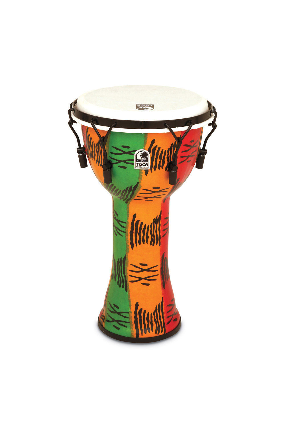 DJEMBE FREESTYLE II MECHANICAL TUNED SPIRIT SYNTHETIC HEAD 12'' TF2DM-12S