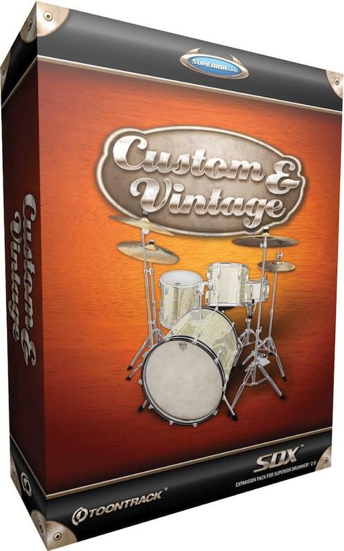 Toontrack Custom And Vintage Pour Superior Drummer 20