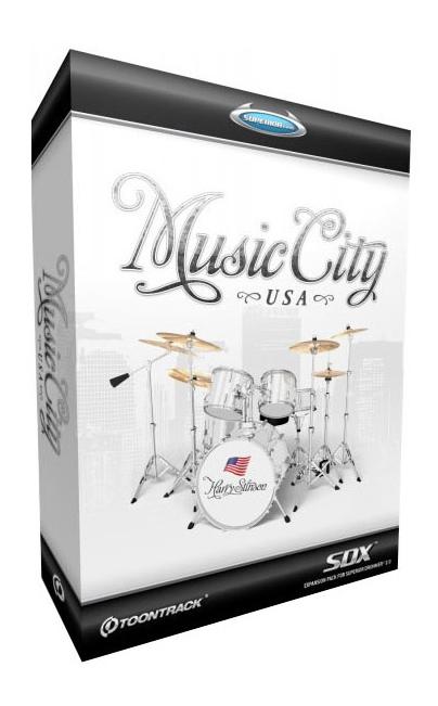 Toontrack Music City Usa Pour Superior Drummer 20
