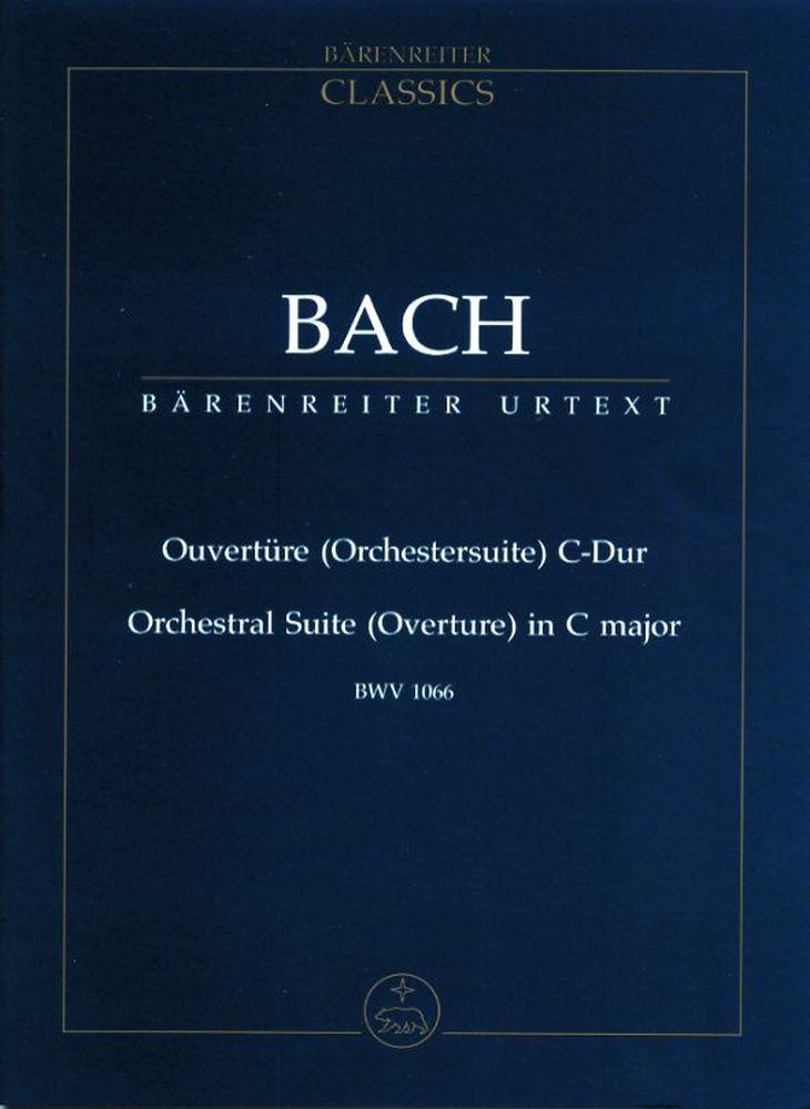 Bach J.s. - Ouverture C-dur Bwv 1066 - Conducteur Poche