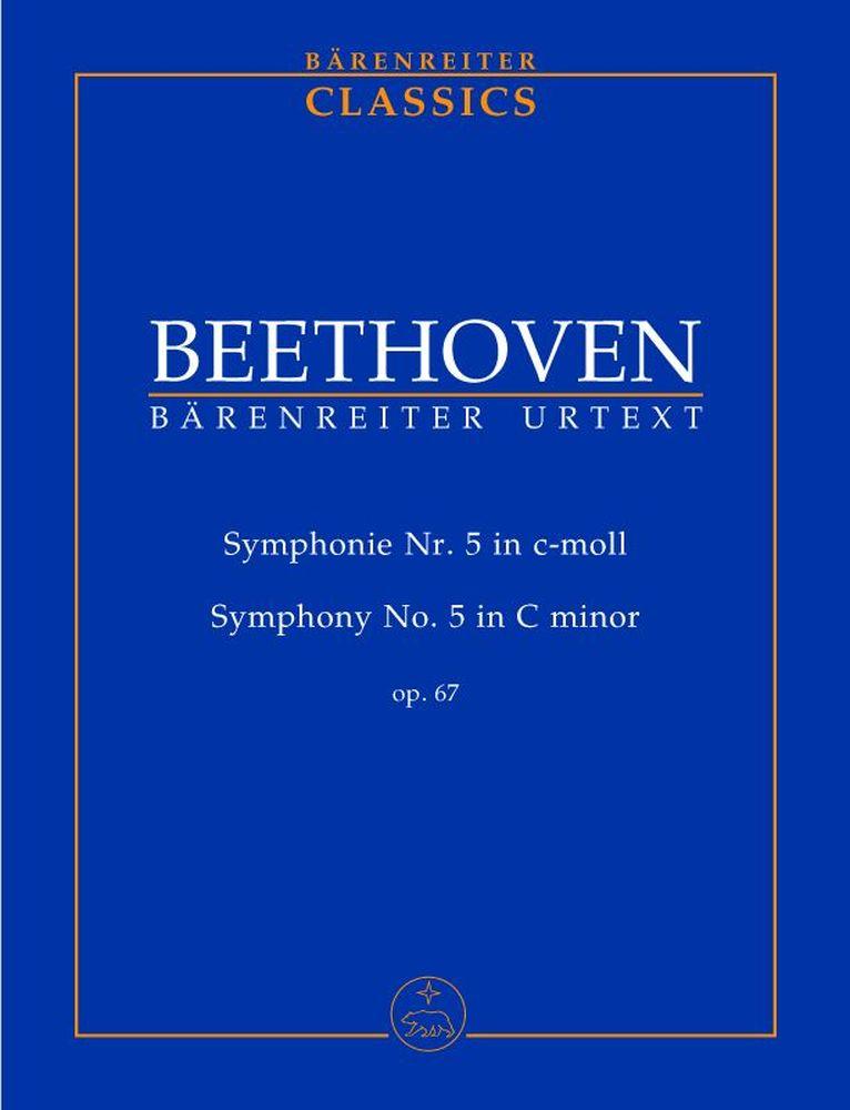 Beethoven L.v. - Symphonie Nr. 5 C-moll Op. 67 - Conducteur Poche