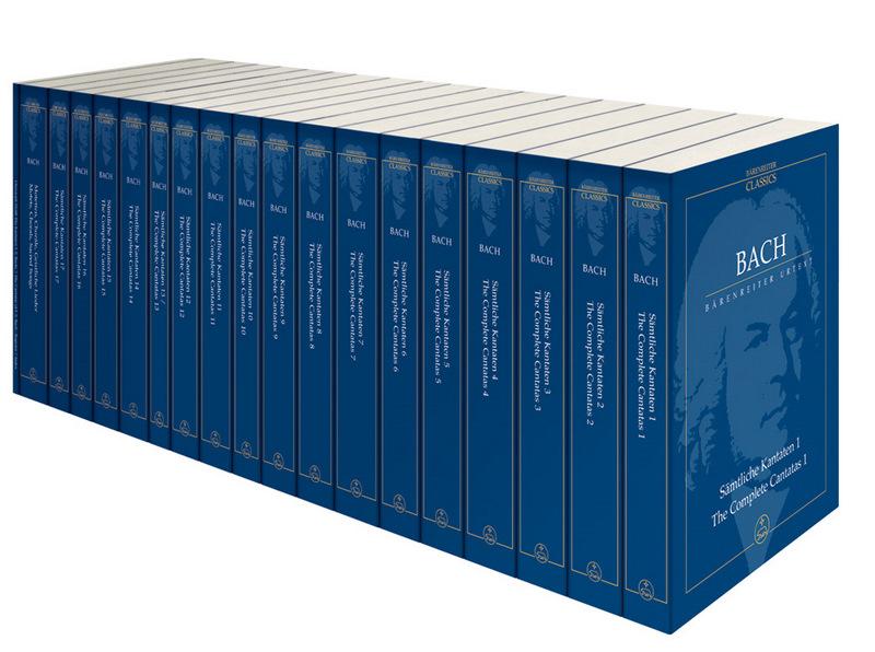 Bach J.s. - Integrale Des Cantates, Chorals Et Motets