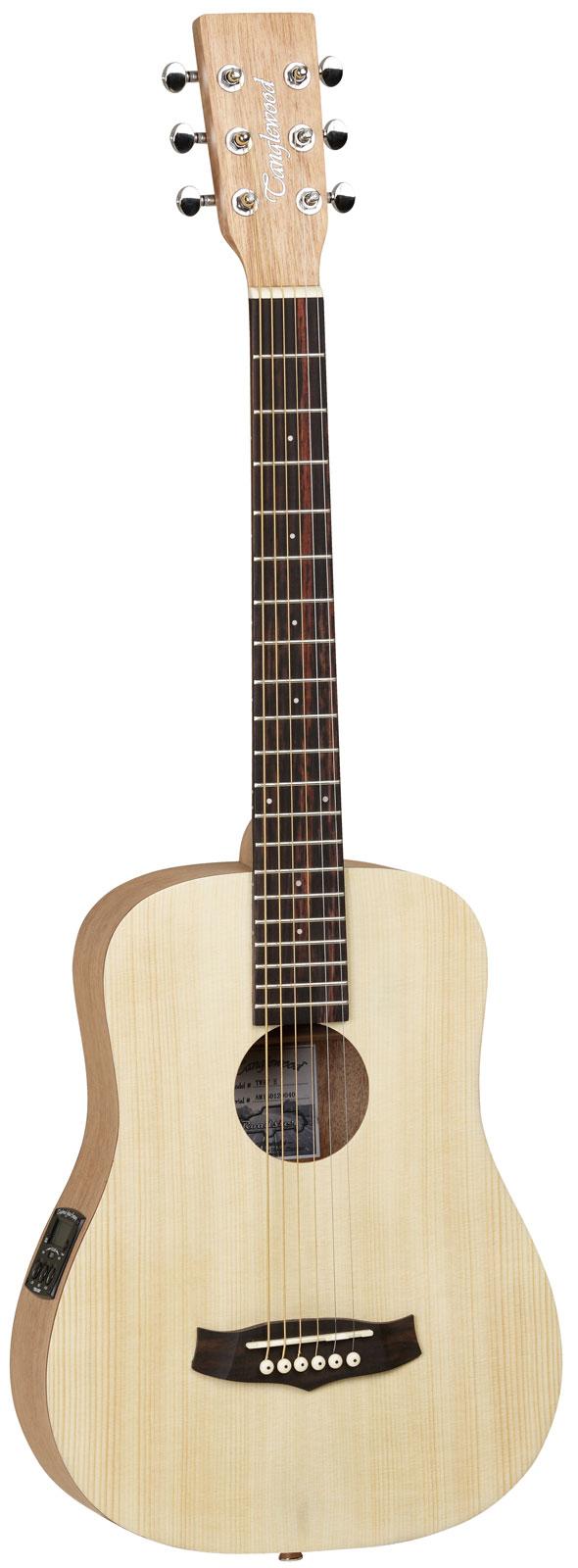 Guitare folk lectro tanglewood jfe naturelle brillante for Housse guitare folk