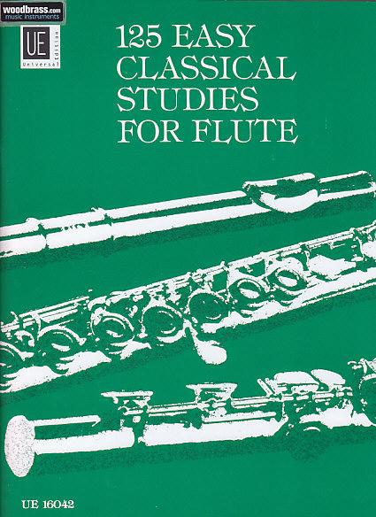 Vester Frans - 125 Etudes Classiques Faciles - Flute