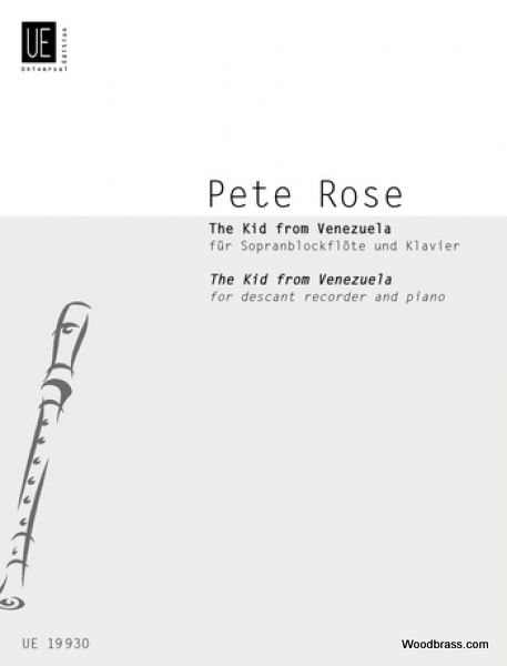 ROSE P. - THE KID FROM VENEZUELA - FLUTE A BEC SOPRANO ET PIANO