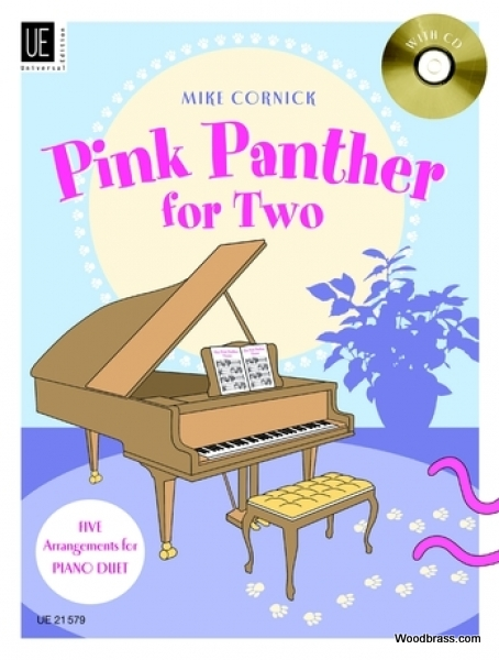 CORNICK M. (ARR.) - PINK PANTHER FOR TWO - PIANO 4 MAINS + CD