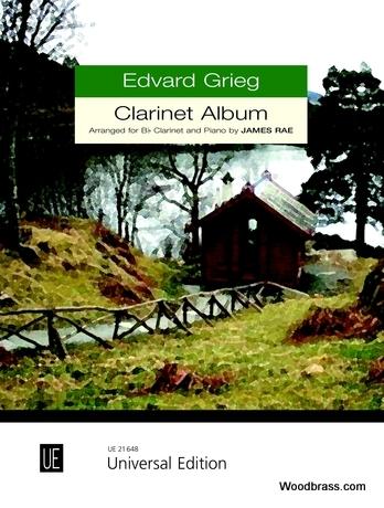 Grieg E. - Clarinet Album