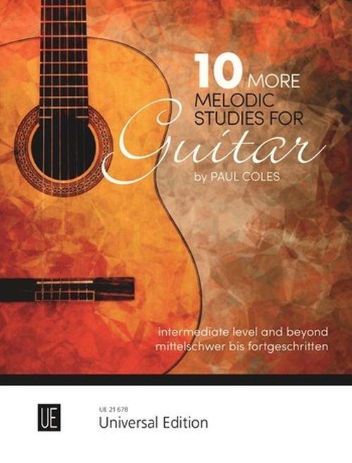 Coles Paul - 10 More Melodic Studies For Guitar