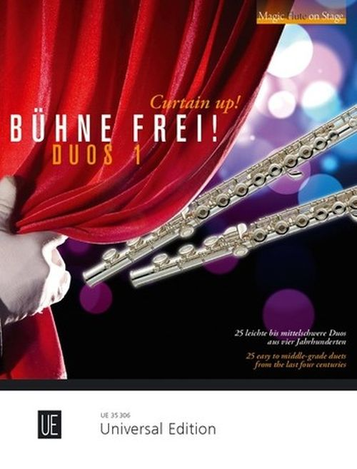 Various - Curtain Up! Duets 1 For 2 Flutes