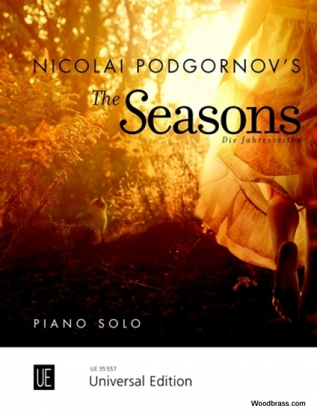PODGORNOV NICOLAI - THE SEASONS - PIANO