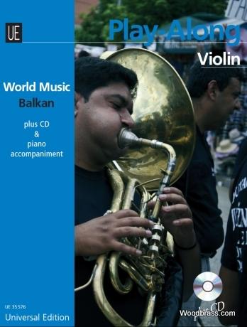 Balkan Play Along Violin + Cd