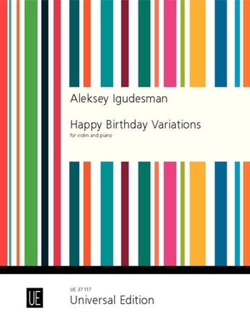 Igudesman Aleksey - Happy Birthday Variations - Violon and Piano