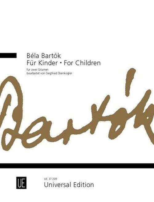 Bartok Bela - For Children - 2 Guitares