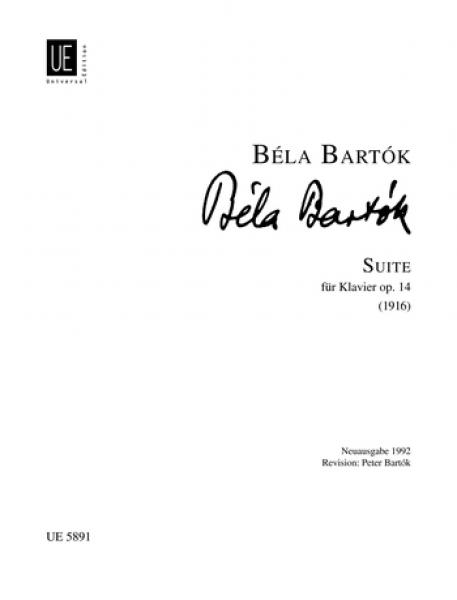Bartok Bela - Suite Op.14