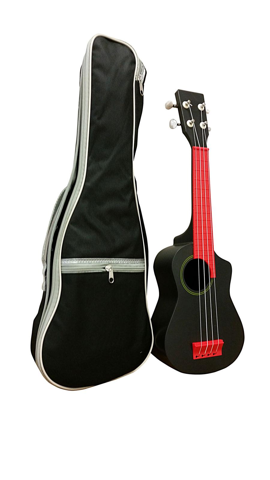 Ukul l rouge et sa housse ukulele buy online free for Housse ukulele