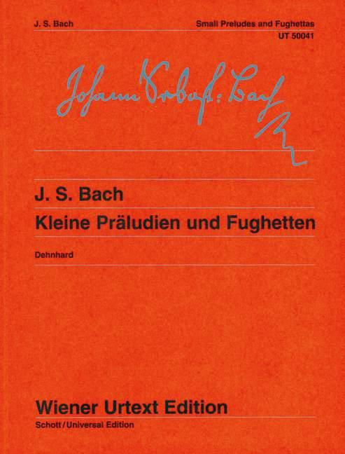 Bach J.s. - Petits Preludes Et Fugues