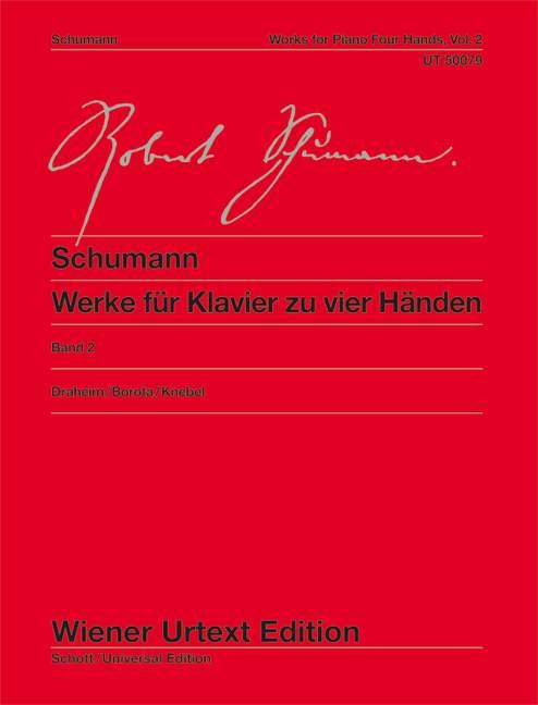Schumann R. - Werke Fur Klavier Zu Vier Haenden