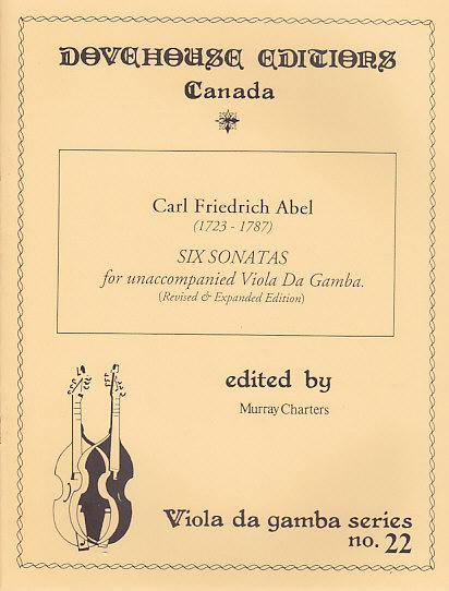 Abel K. F. - 19 Movements In Six Suites - Viole De Gambe
