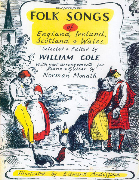 Cole William - Folksongs Of England ,ireland ,scotland ,wales - Pvg