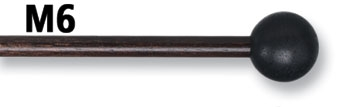 Baguettes De Xylophone Vic Firth M6 Tete Phenol