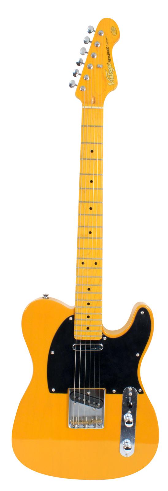 Vintage Guitars V52 Bs Butterscotch