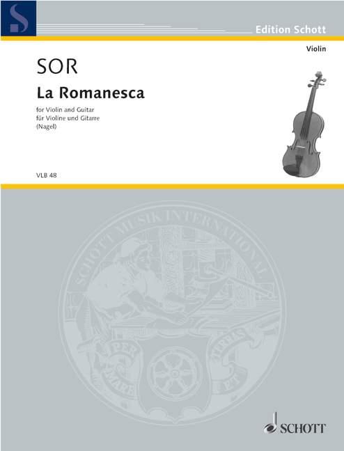 Sor Fernando - La Romanesca - Violin And Guitar