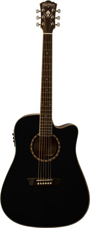 Washburn Wd10sceb Black