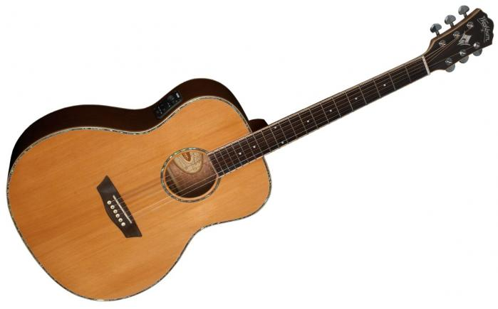 Washburn Wg26sce Grand Auditorium Natural