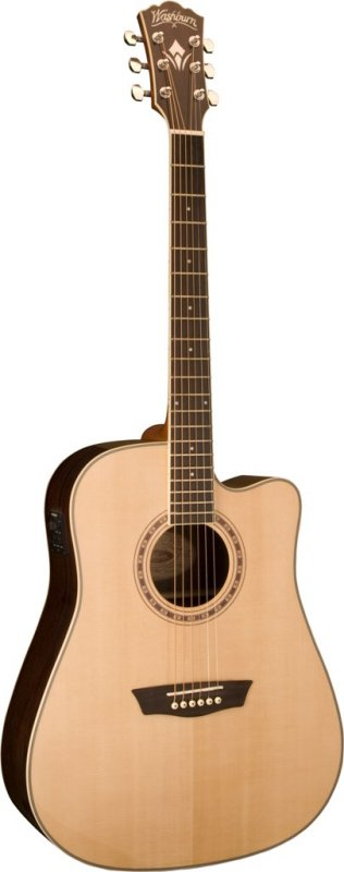 Washburn Deluxe Wd20sce Natural
