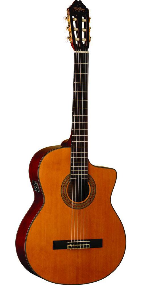 washburn c64s ce guitare lectro acoustique pan coup avec. Black Bedroom Furniture Sets. Home Design Ideas