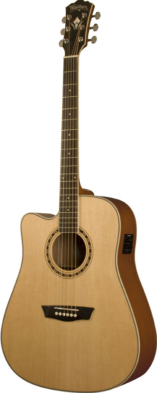 Washburn Gaucher Wd10scelh Natural