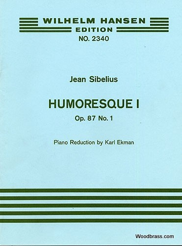 Sibelius J. - Humoresque Op.87 N°1 - Violon and Piano