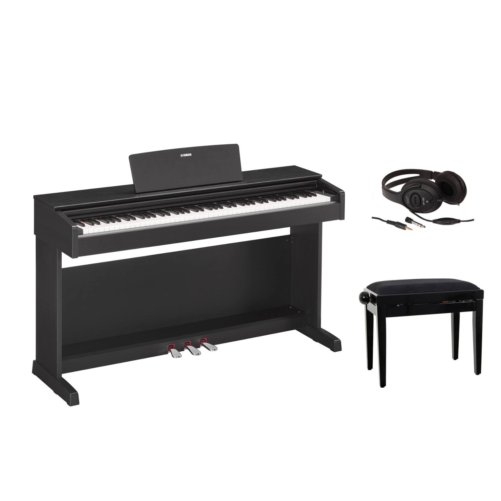 pack piano num rique yamaha p115 blanc support l85. Black Bedroom Furniture Sets. Home Design Ideas