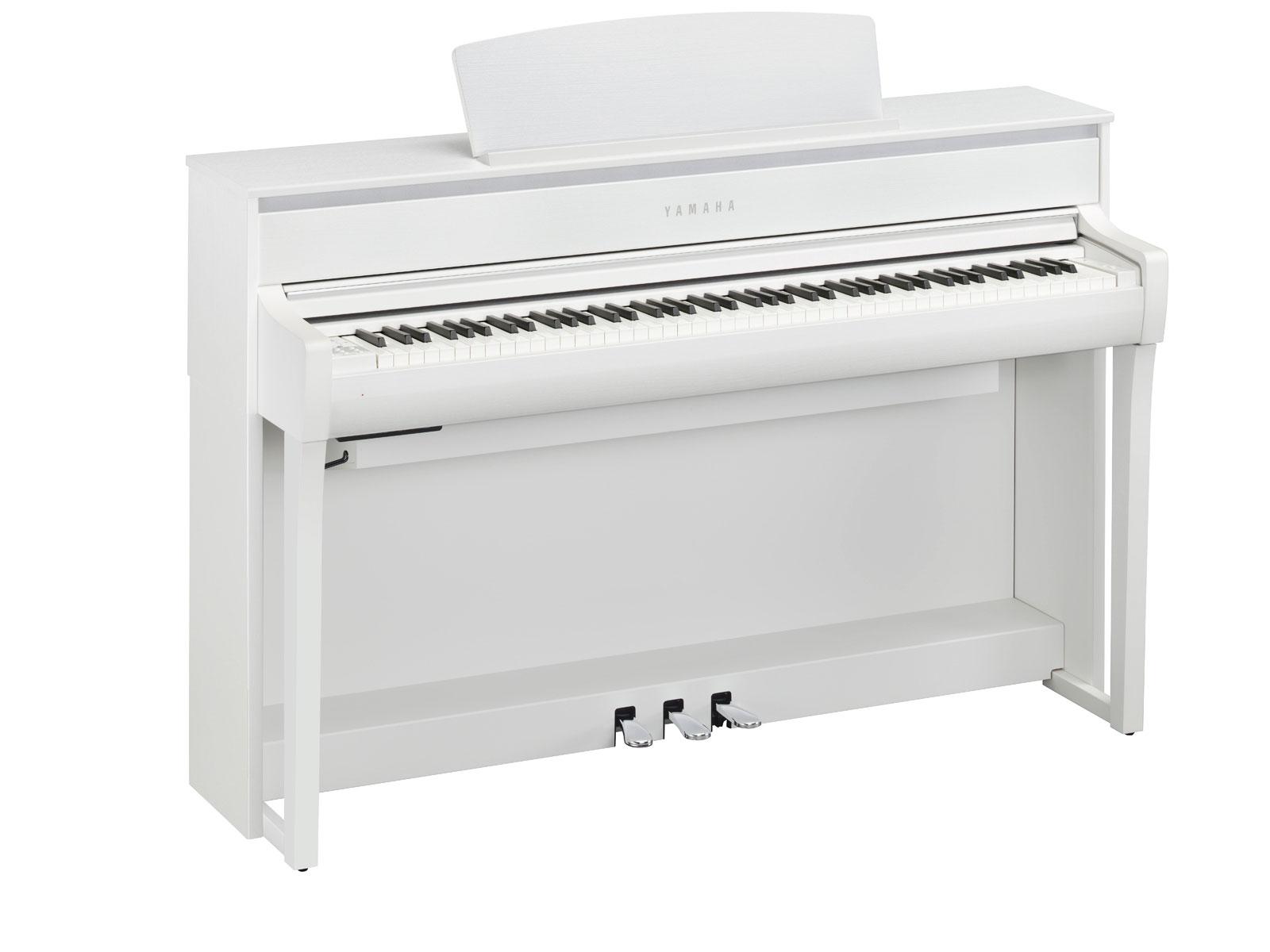 Yamaha clavinova clp635wh blanc piano buy online for Yamaha clavinova clp 110