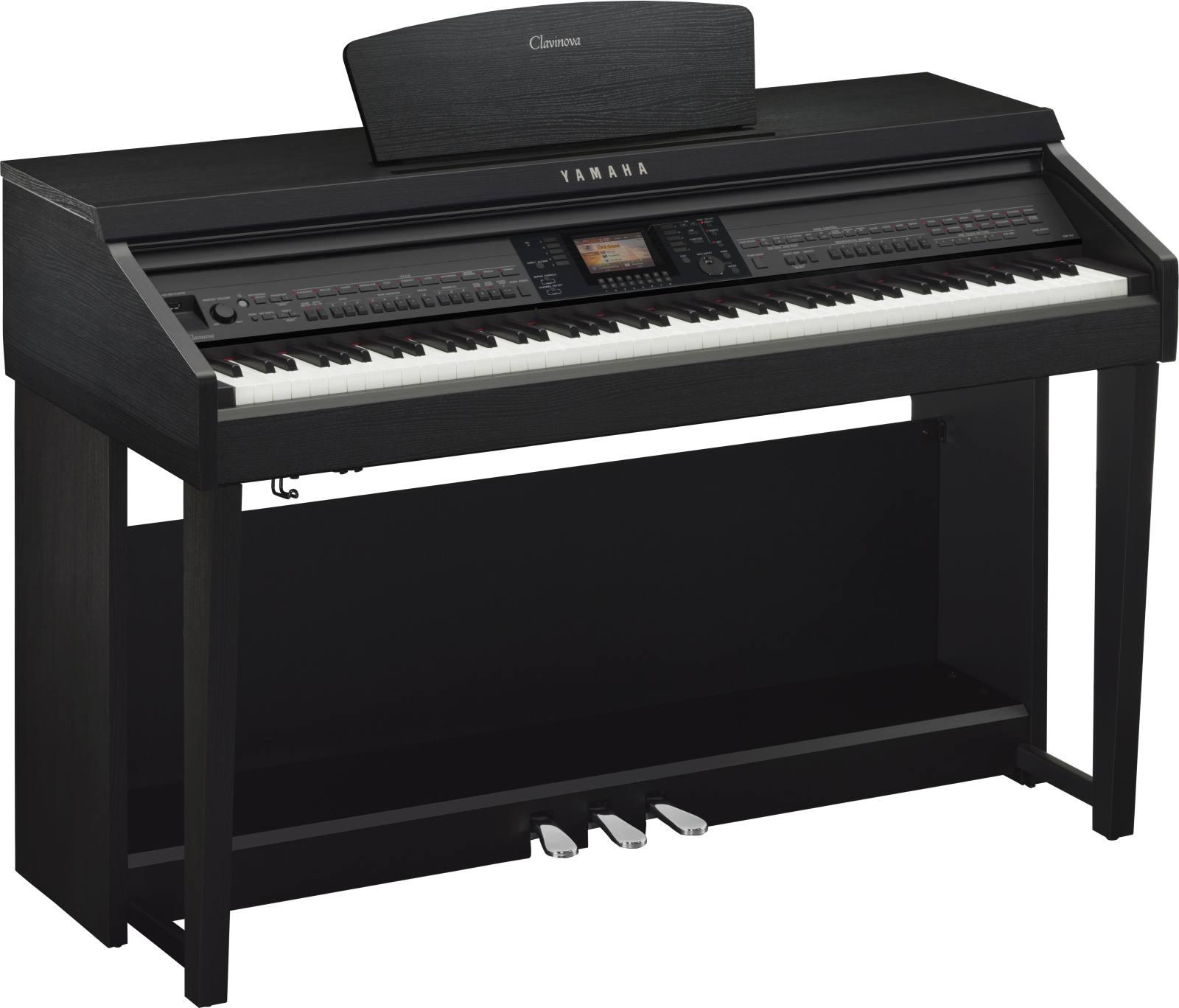 Yamaha clavinova cvp 701 noyer noir piano buy online for Yamaha clavinova clp 200 price