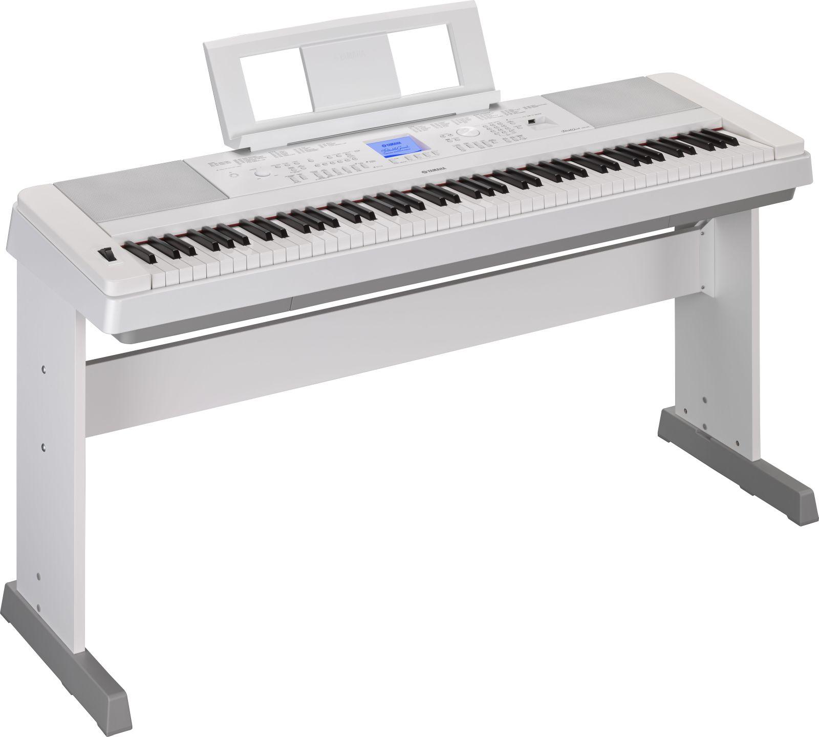 yamaha dgx660 blanc electronic keyboard buy online. Black Bedroom Furniture Sets. Home Design Ideas