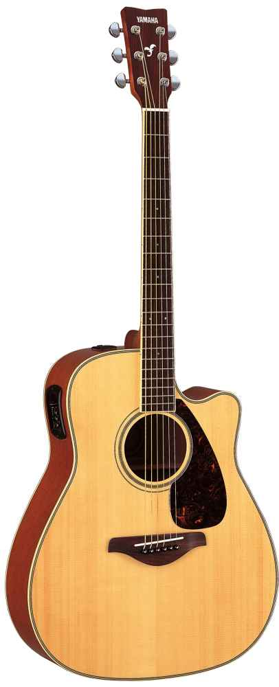 Yamaha Fgx720sc Natural