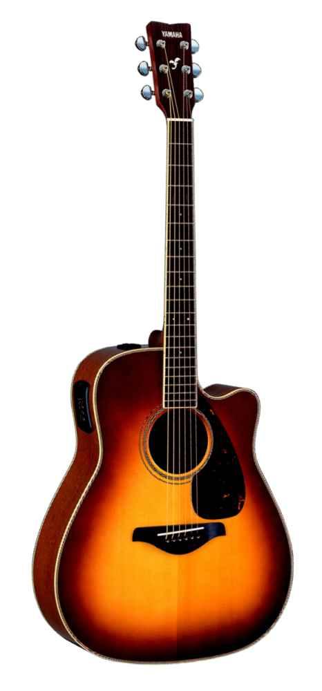 Yamaha Fgx720sc Brown Sunburst