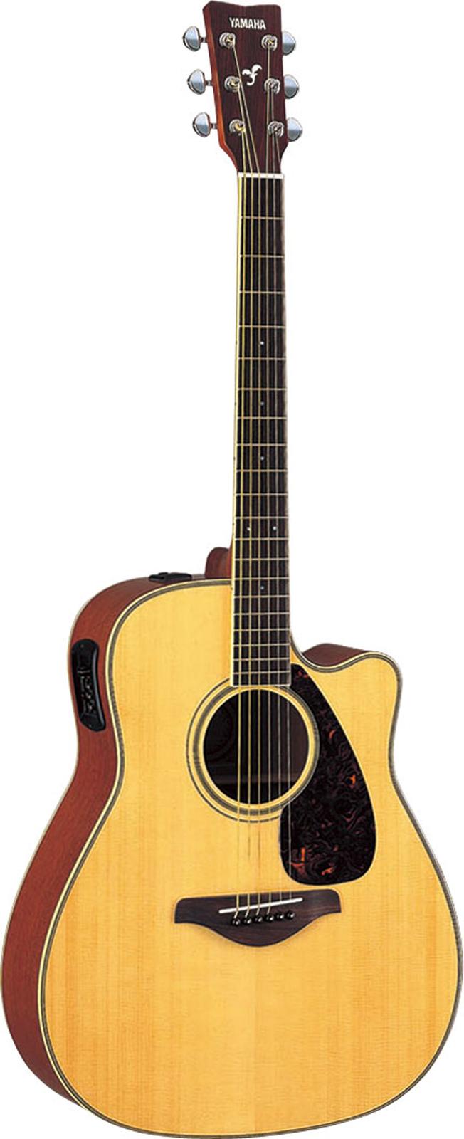 Yamaha Fgx720scii Natural