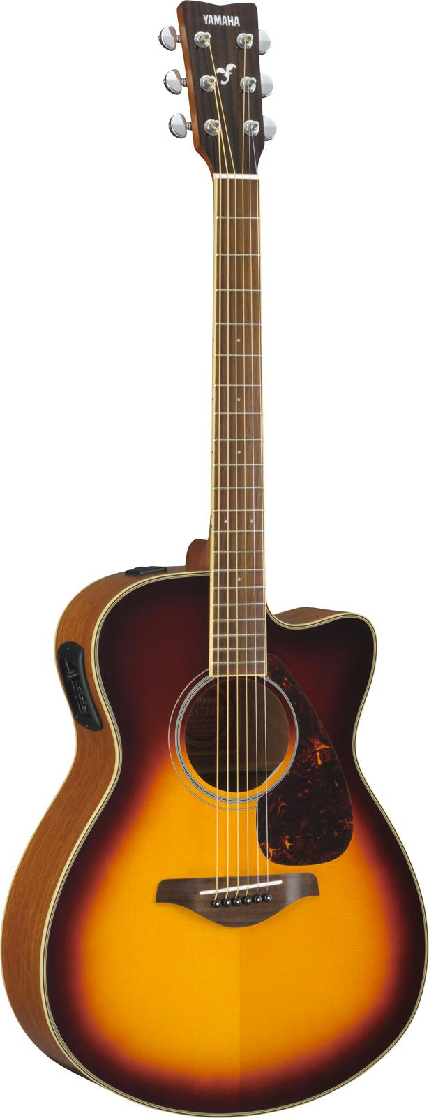 Yamaha Fsx720sciibs Brown Sunburst