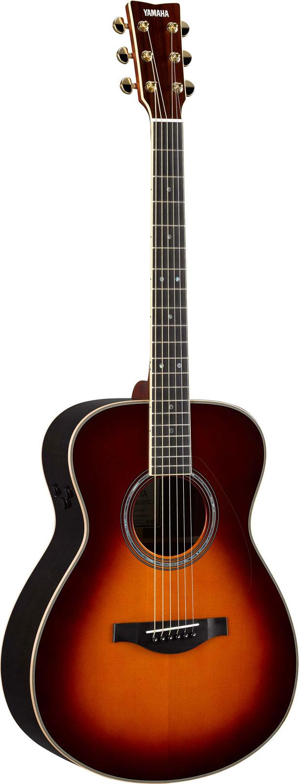 Guitare acoustique folk 3 4 yamaha jr2 en housse namm for Housse guitare folk