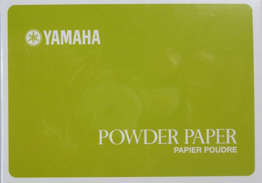 Yamaha Carnet Papier Poudre Tampons