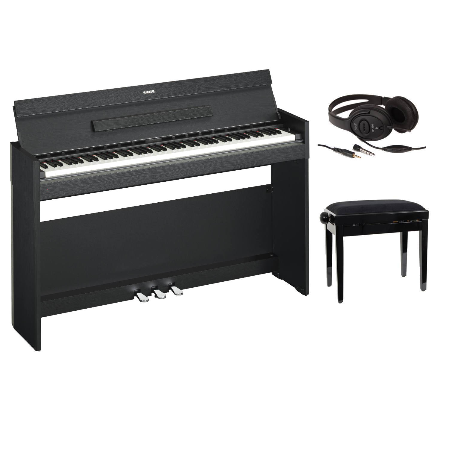 yamaha full pack ydp s52 blanc piano buy online free. Black Bedroom Furniture Sets. Home Design Ideas