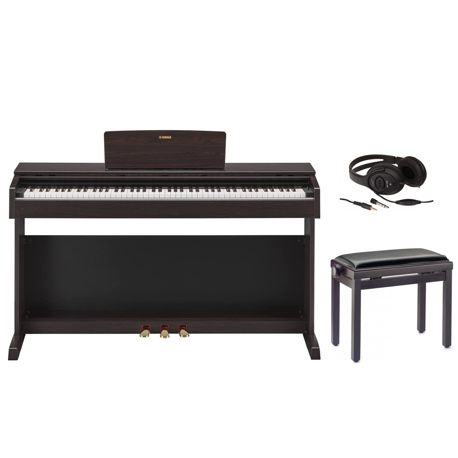 pack piano num rique yamaha p115 blanc support l85 piano buy online free. Black Bedroom Furniture Sets. Home Design Ideas