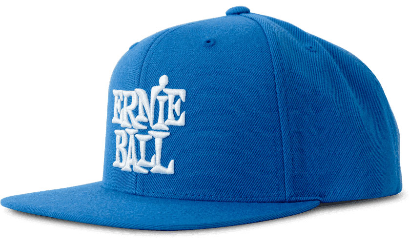 BLUE WITH WHITE LOGO HAT