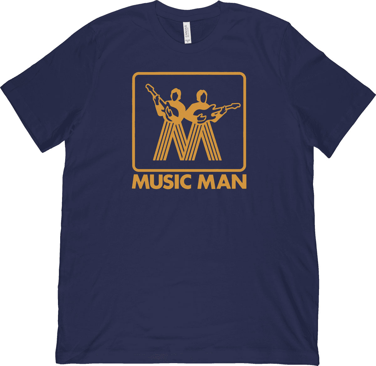 T-SHIRT MM VINTAGE GOLD LOGO - L